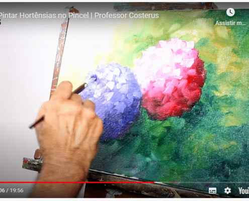 Como-Pintar-Hortênsias-no-Pincel-Professor-Costerus