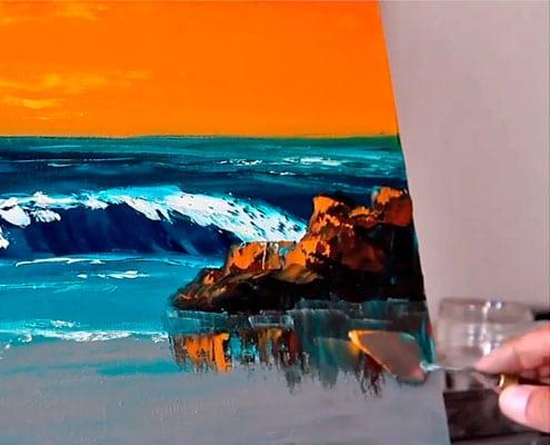 como-pintar-por-do-sol-professor-costerus-curso-de-pintura-em-tela