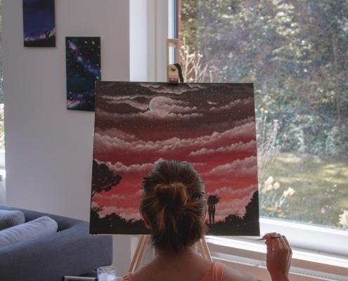 pintura em tela para iniciantes 1